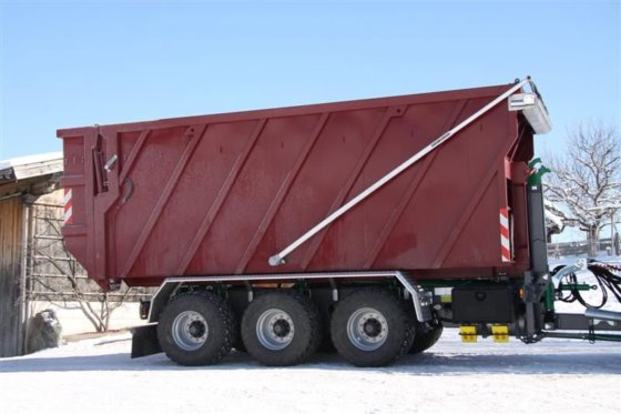 Containerprofi Abschiebecontainer mit Quick-Cover in