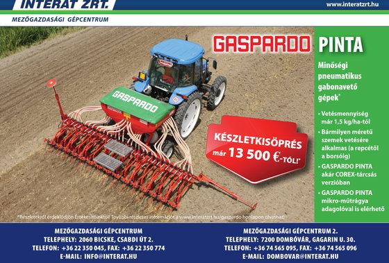 2016 Gaspardo GASPARDO PINTA gabonavetőgép
