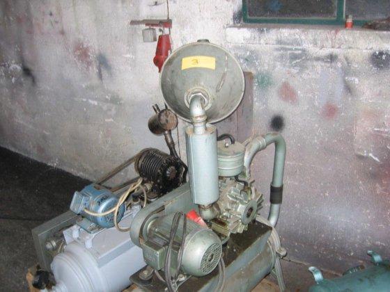Westfalia Vacuumpumpe RPS 10 in