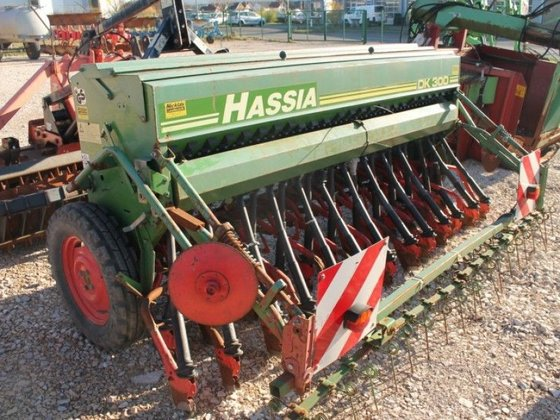 Hassia DK 300 in Europe