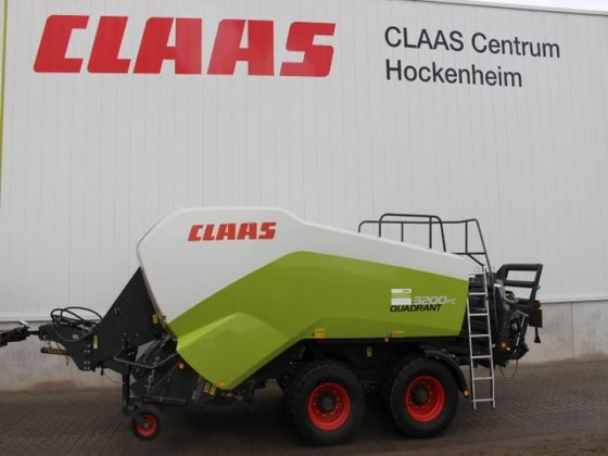 2012 CLAAS QUADRANT 3200 in
