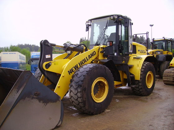 2009 New Holland W190B SN