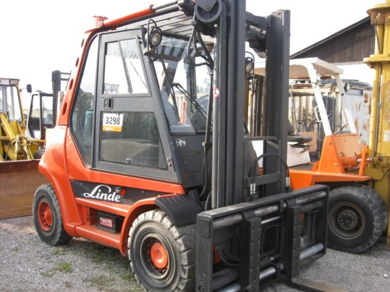 2002 Linde H80D in Europe
