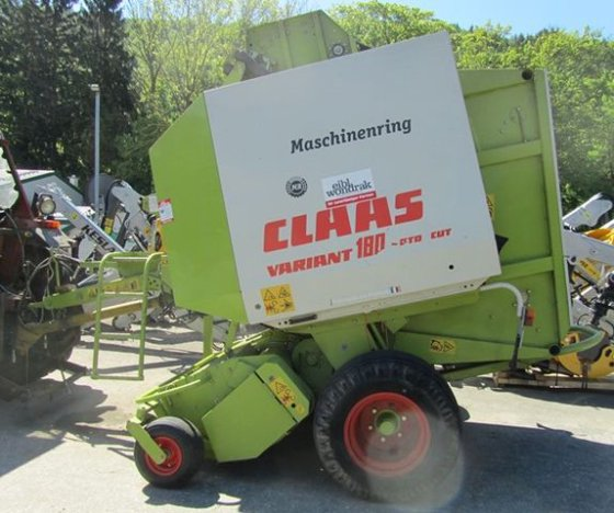 Claas Variant 180 RC in
