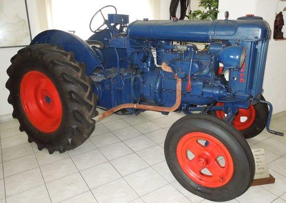Fordson Oldtimer Traktor Mayor E27IV