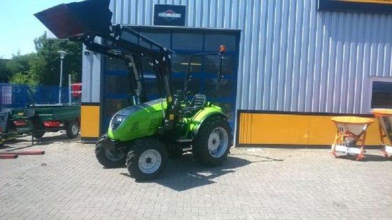 2015 TPS Tuber 40,39PS-Allrad-Traktor-Frontlader in