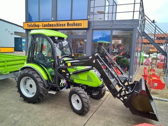 2015 TPS Tuber 50,48PS-Allrad-Traktor-Kabine-Frontlader in