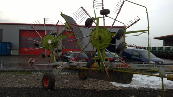 2008 Claas Liner 1550 Twin