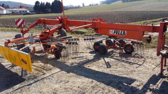 Fella Doppelschwader TS 1401 in