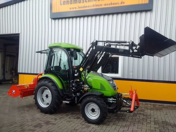 2015 TPS Tuber 40,39PS-Allrad-Traktor-Kab-Frontl-Frontheber in
