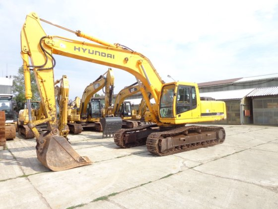 2005 Hyundai R290LC-7 in Europe