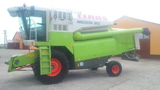 2003 Claas Medion-310 in Europe