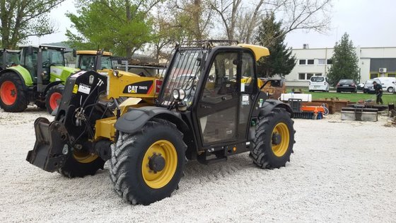2013 Caterpillar TH407C in Europe