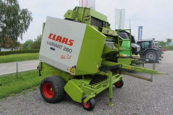 1999 Claas Variant 280 Rotocut