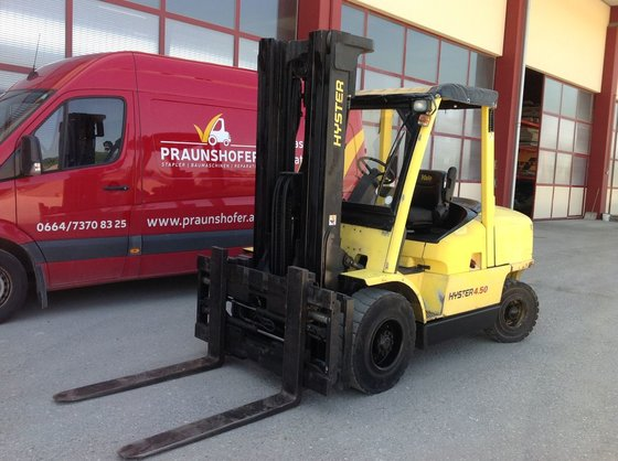 2003 Hyster H4.50MX in Europe