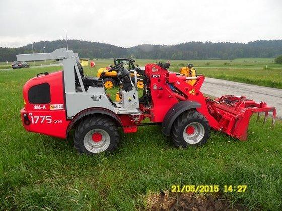 2008 Weidemann 1775CX50 in Europe