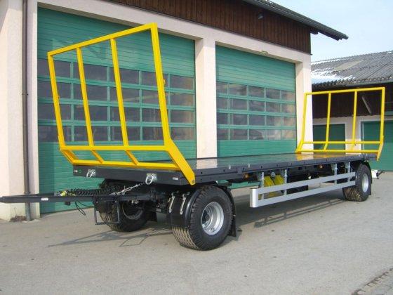 Wielton PRS-2/S9 2 Achs Ballen-/Plattformwagen