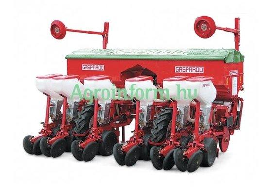 2015 Gaspardo kukorica gabonavetőgép in