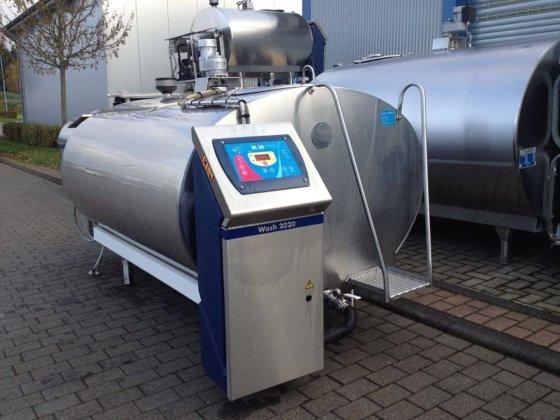 Serap Milchkühltank 2000 Liter Steckerfertig