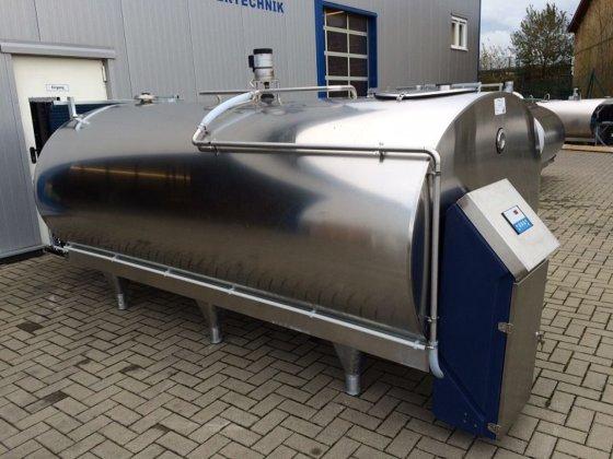 Müller Milchtank / Milchkühltank 5000