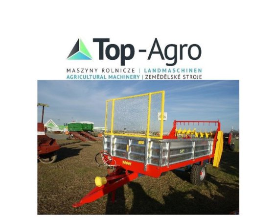 2017 TOP-AGRO 2017 NEU 3500KG