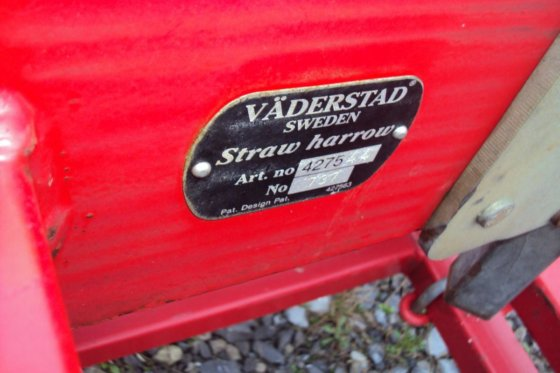 Väderstad Strohstriegel für Carrier 500
