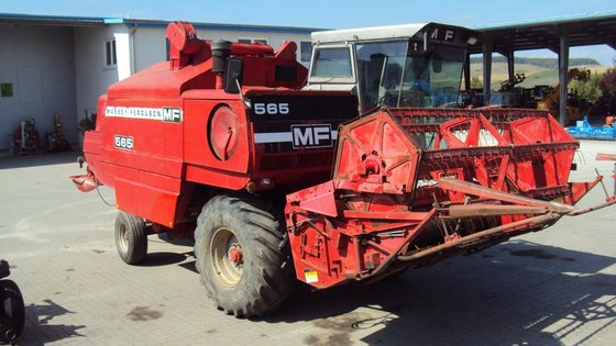 1982 Massey Ferguson 565 in