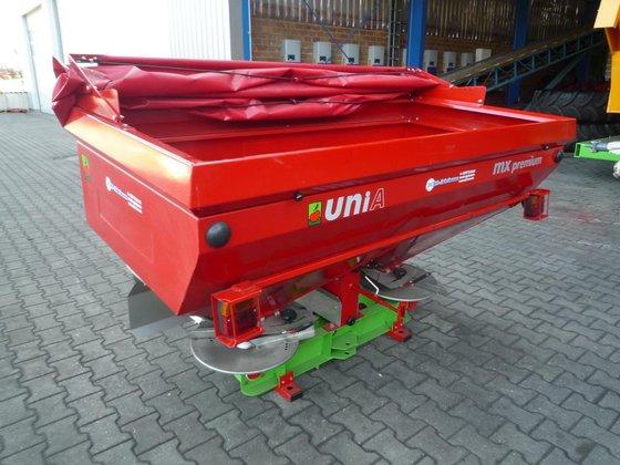 Unia 2-Scheiben Düngerstreuer MX 1200,