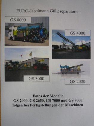 EURO-Jabelmann Gülleseparator GS 6000, NEU,