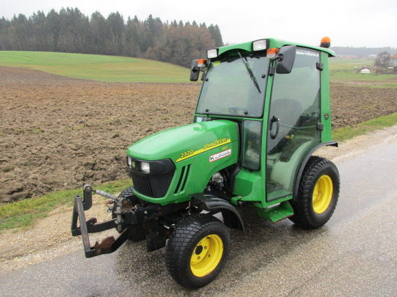 2012 john deere john deere 2320 hst in europe. Black Bedroom Furniture Sets. Home Design Ideas