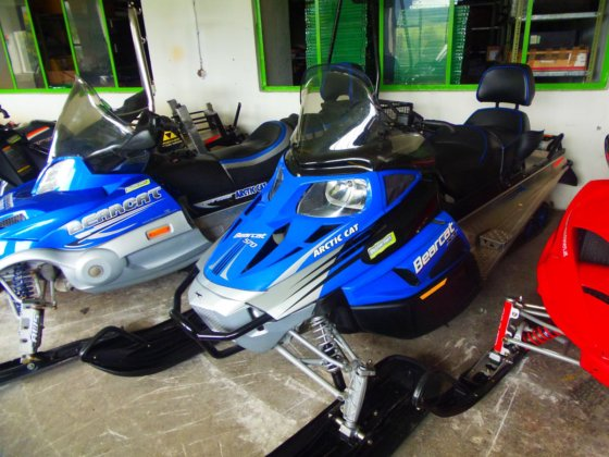 2010 Arctic Cat Bearcat 570
