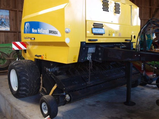 2007 New Holland BR 560