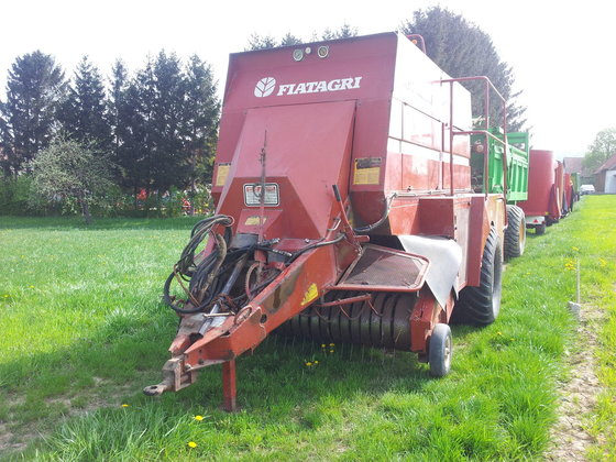 Fiatagri Hesston 4700 in Europe