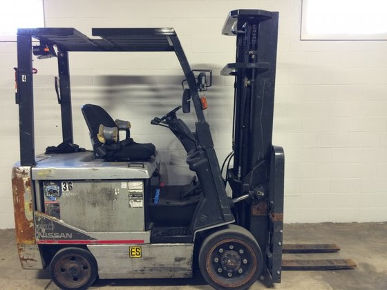 Nissan CPG1B2000570 CPG1B230S FORKLIFT in