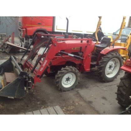 Minotractor B / W DONGFENG DF-244 with a loader in Moscow and