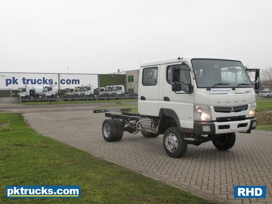 Fuso-Mitsubishi Canter 6C18D RHD #div3382 in North Brabant, Netherlands