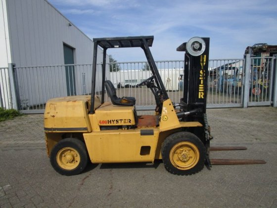 1989 Hyster H4.00XL/5 Forklift in