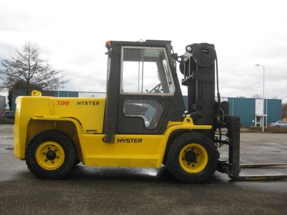 1991 Hyster H7.00XL Forklift in