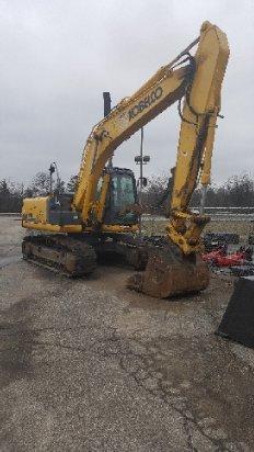 2012 Kobelco SK170LC-9 Excavator-Track in