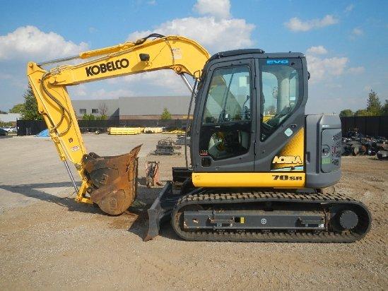2012 Kobelco 70SR Excavator-Mini in