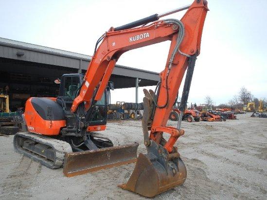 2013 Kubota KX080 Excavator-Mini in
