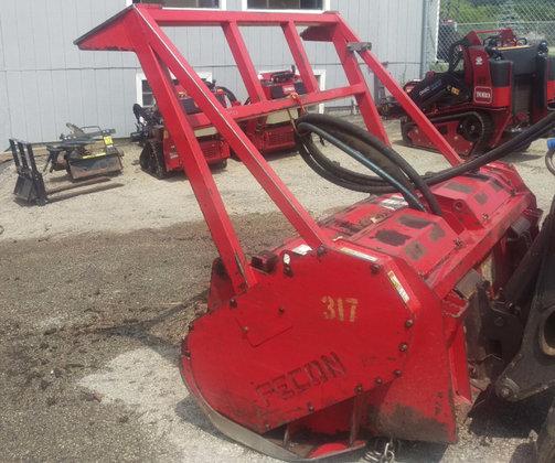 2012 Fecon BH74SS Skid Steer