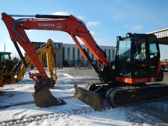 2014 Kubota KX080 Excavator-Mini in