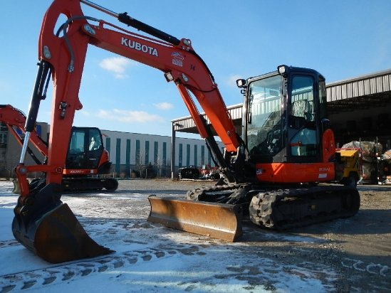 2014 Kubota KX057-4 Excavator-Mini in