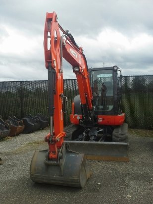 2014 Kubota KX057 Excavator-Mini in