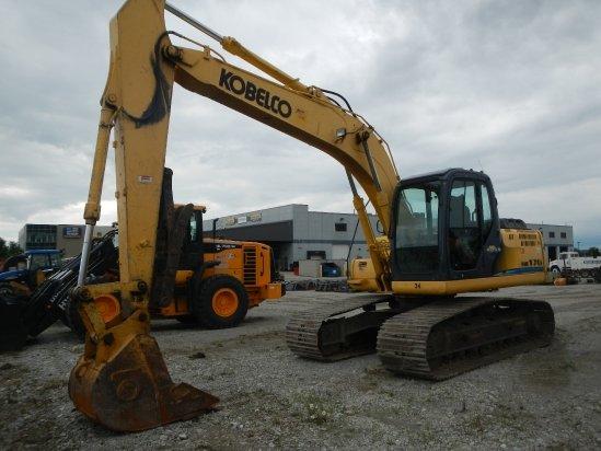 2008 Kobelco SK170 Excavator-Track in