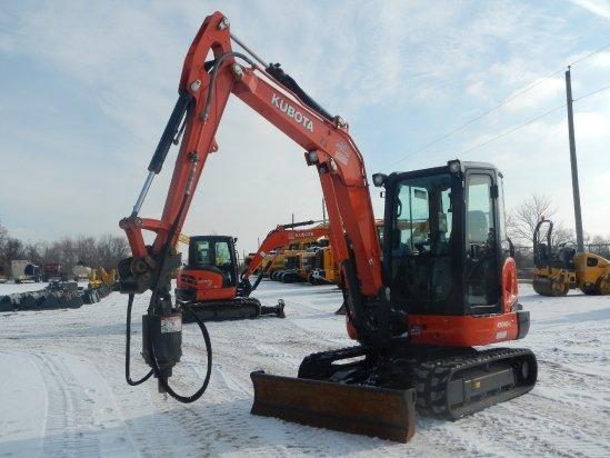 2014 Kubota KX040 Excavator-Mini in