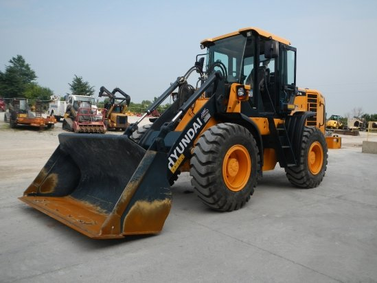 2014 Hyundai HL730TM-9A Wheel Loader