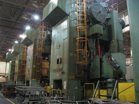 1000 ton Danly (5) Press