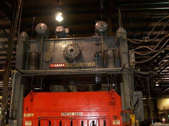 """1973 400 ton Niagara 144""""x60"""""""